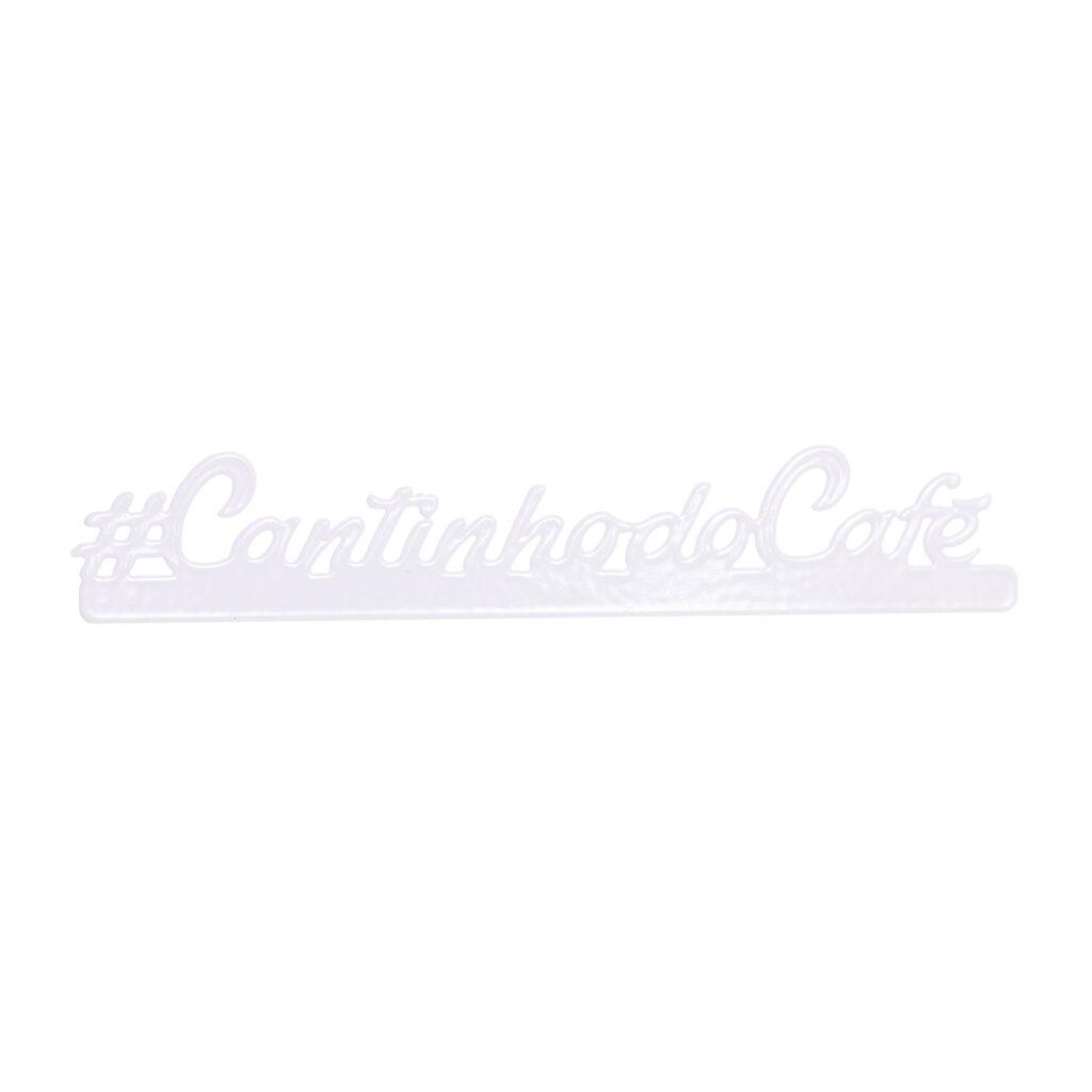 Placa decorativa Cantinho do Café