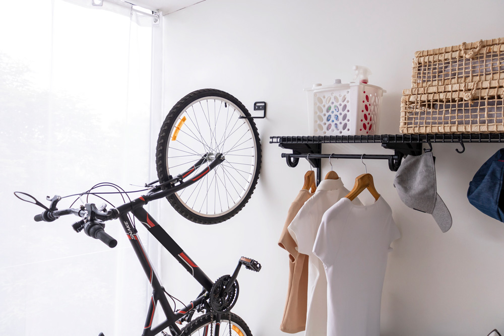 Bicicletas na Lavanderia