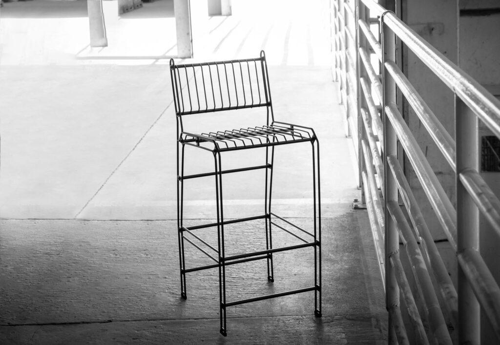 Cadeira Bistrô Decorativa Aramada - Niva