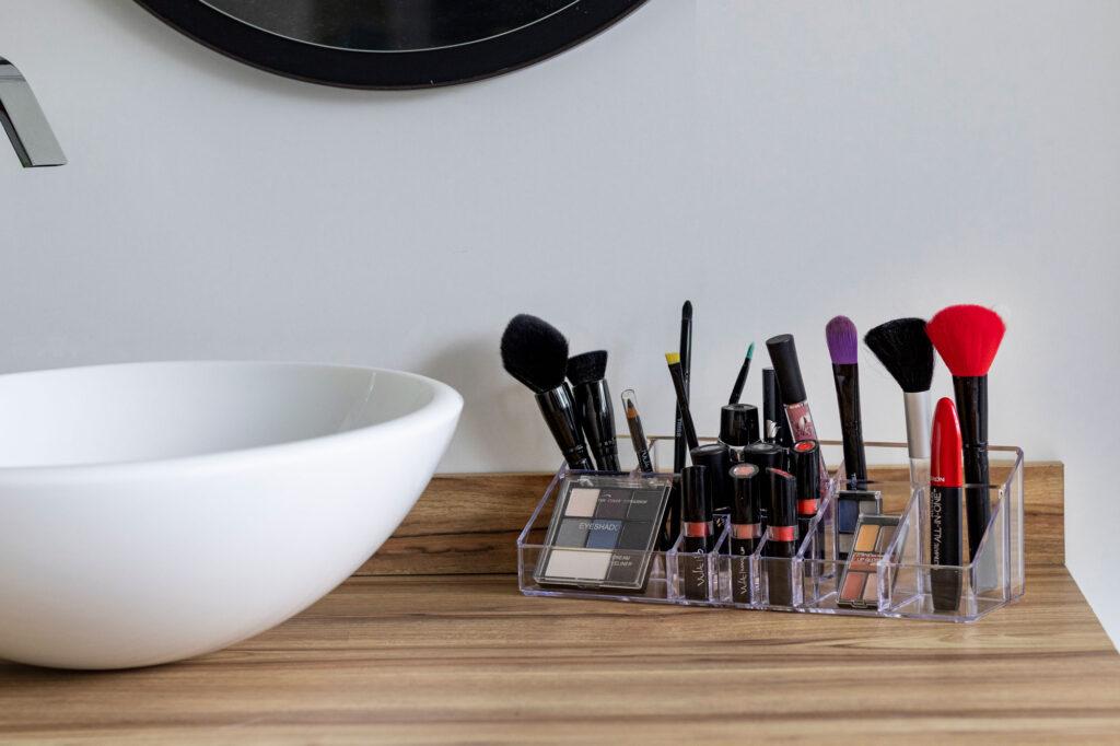 Organizador de maquiagens grande