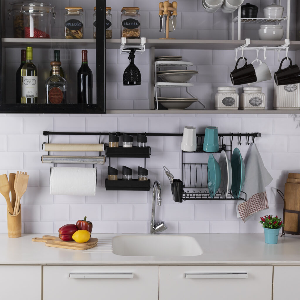 Cook Premium Kit 5 aramado para parede de cozinha