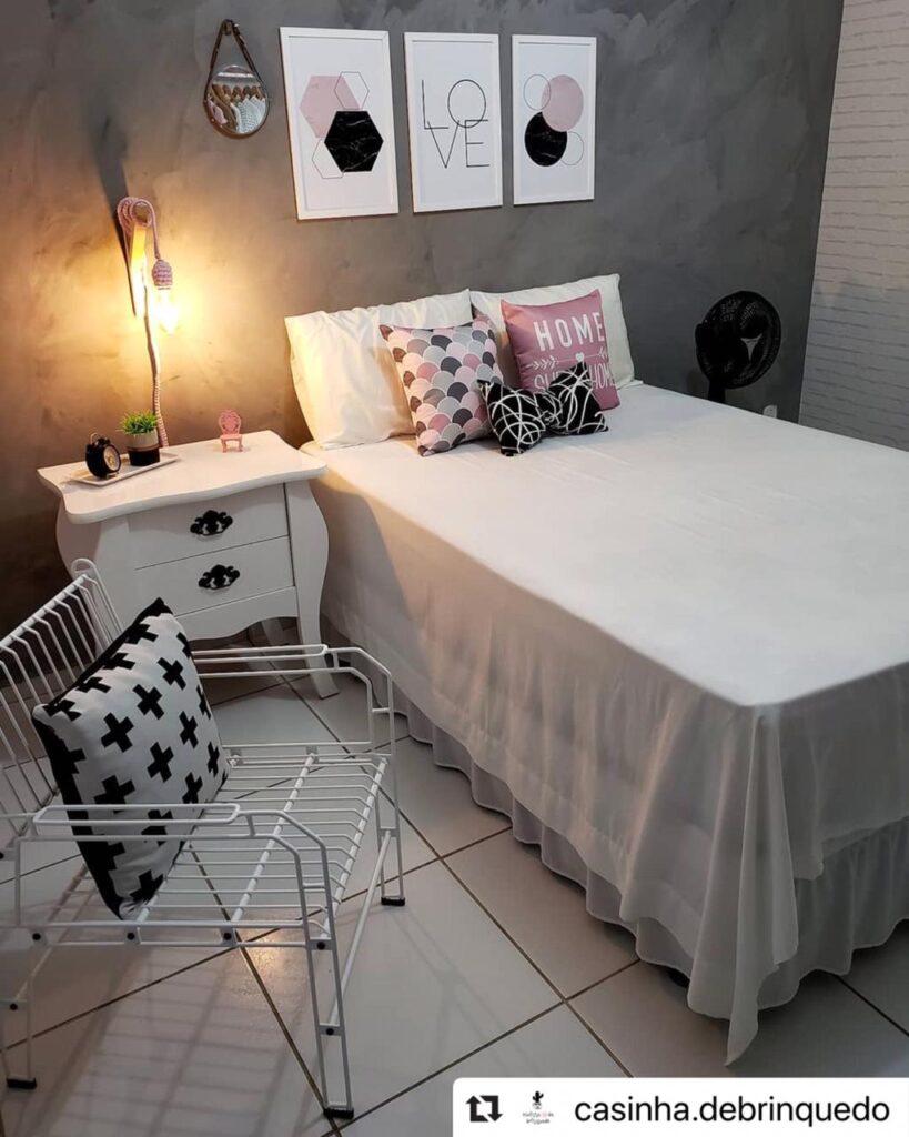 Decoração de quarto com aramados