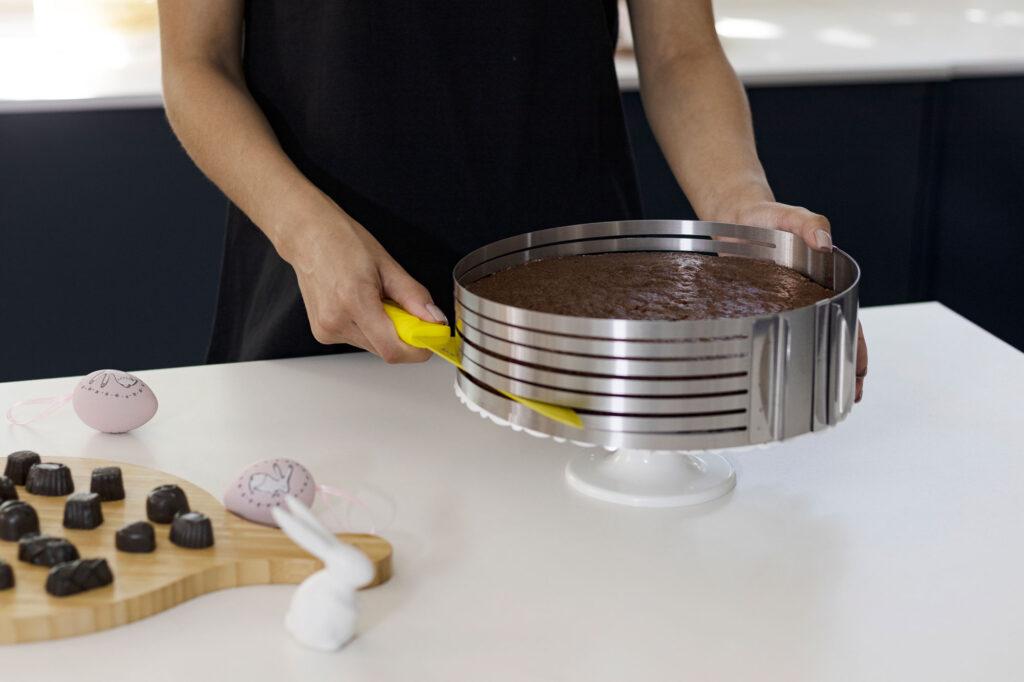 Fatiador de Bolos Aço Inox - Metalic