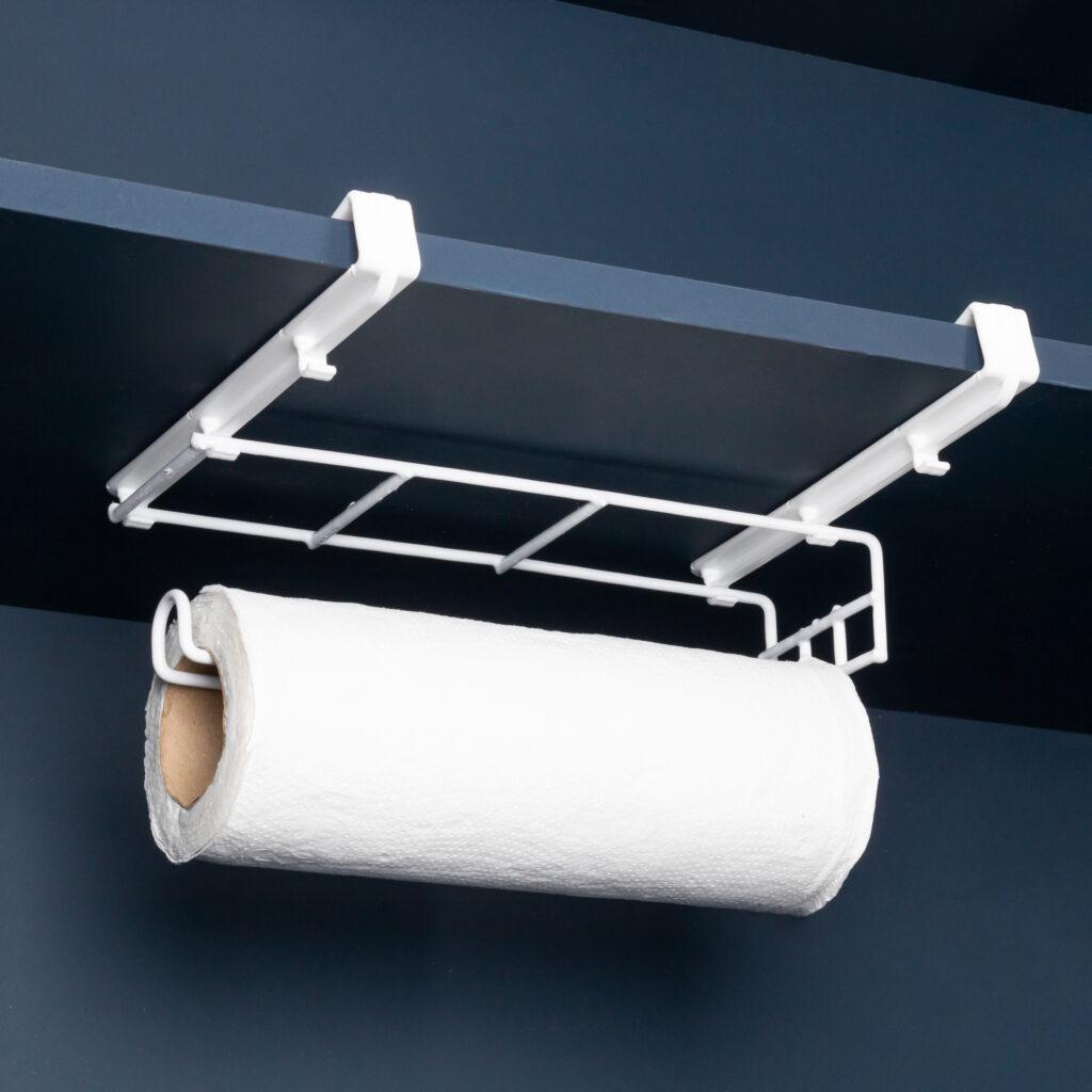Suporte para papel toalha ajustável