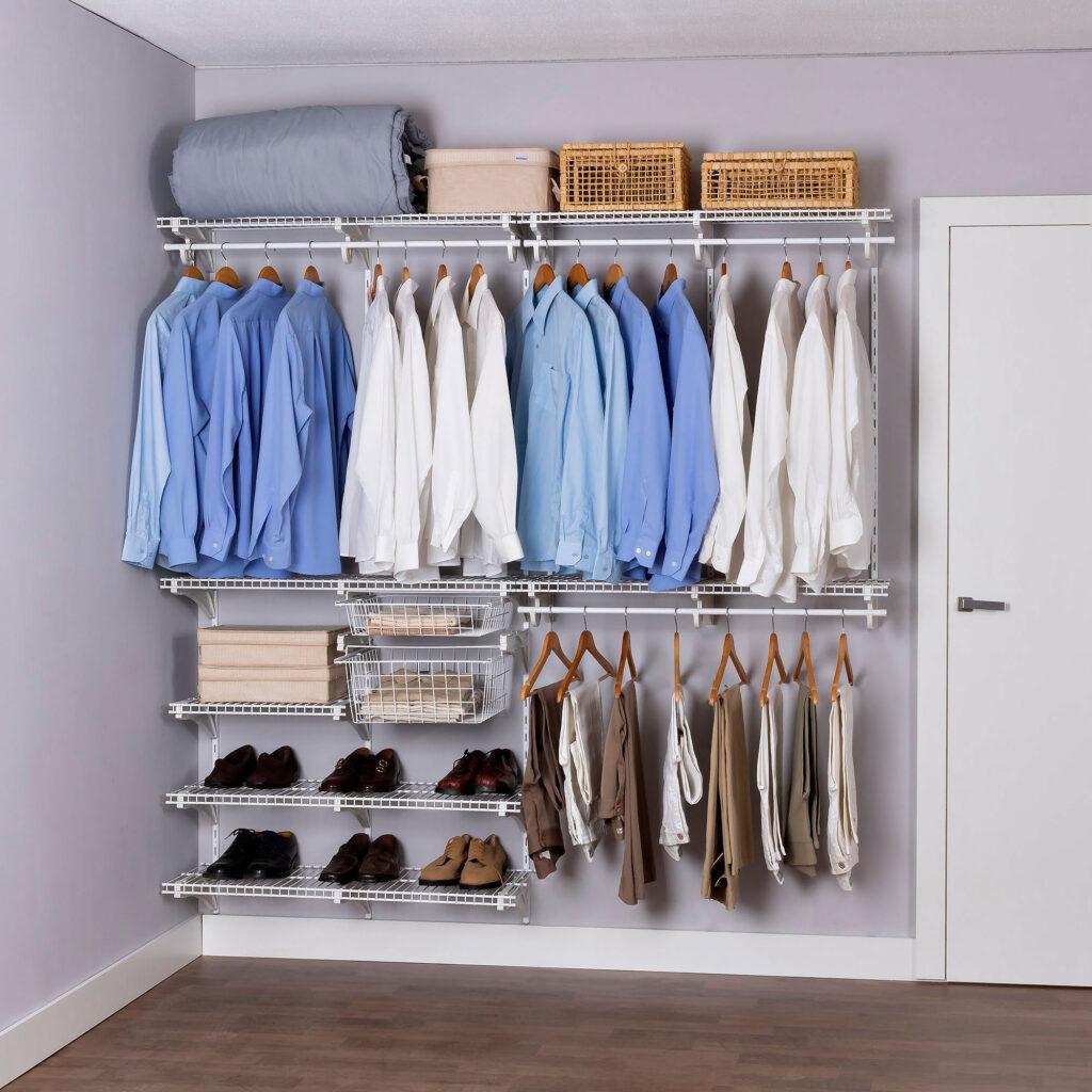Armário aramado kit 24 - Closet ou quarto