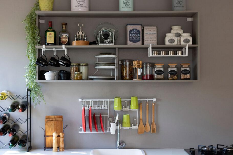 Cook Premium Kit 4 aramado para parede de cozinha