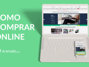 Como comprar online na Aramado.com