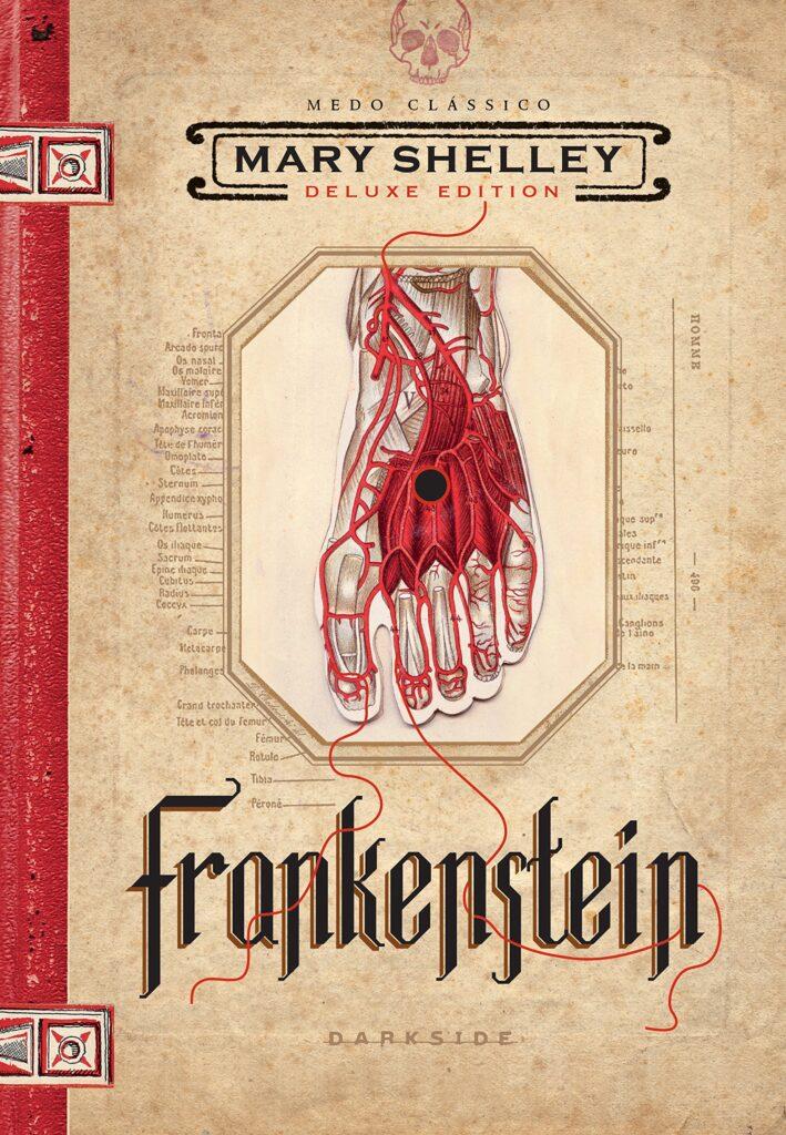 Frankenstein capa do livro