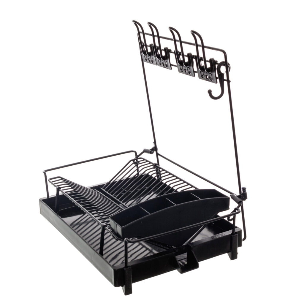 Escorredor de pratos Aramado Dry Dobrável para Parede