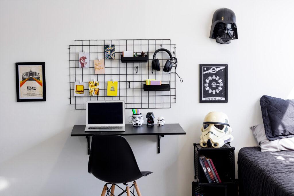 Decoração Geek para Home Office
