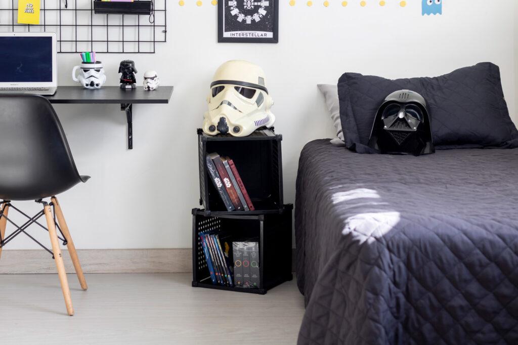 Nicho organizador de ambientes - Decoração Geek