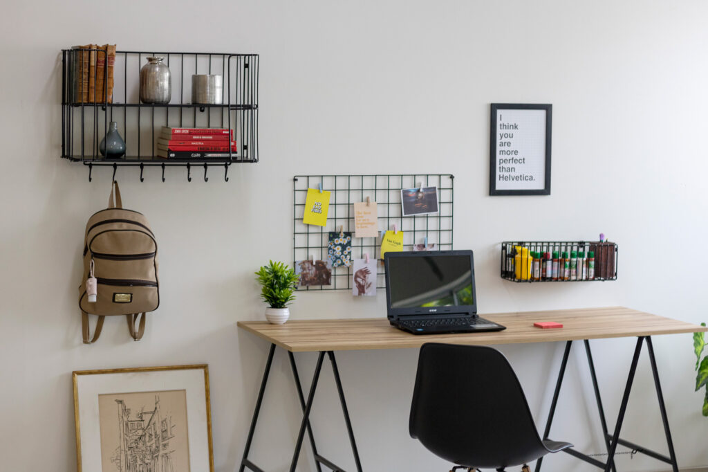 Home office compacto