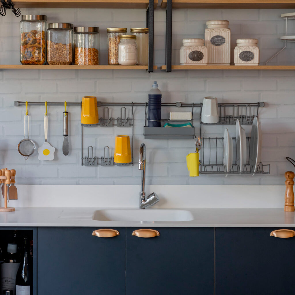 Cook Premium Kit 6 aramado para parede de cozinha