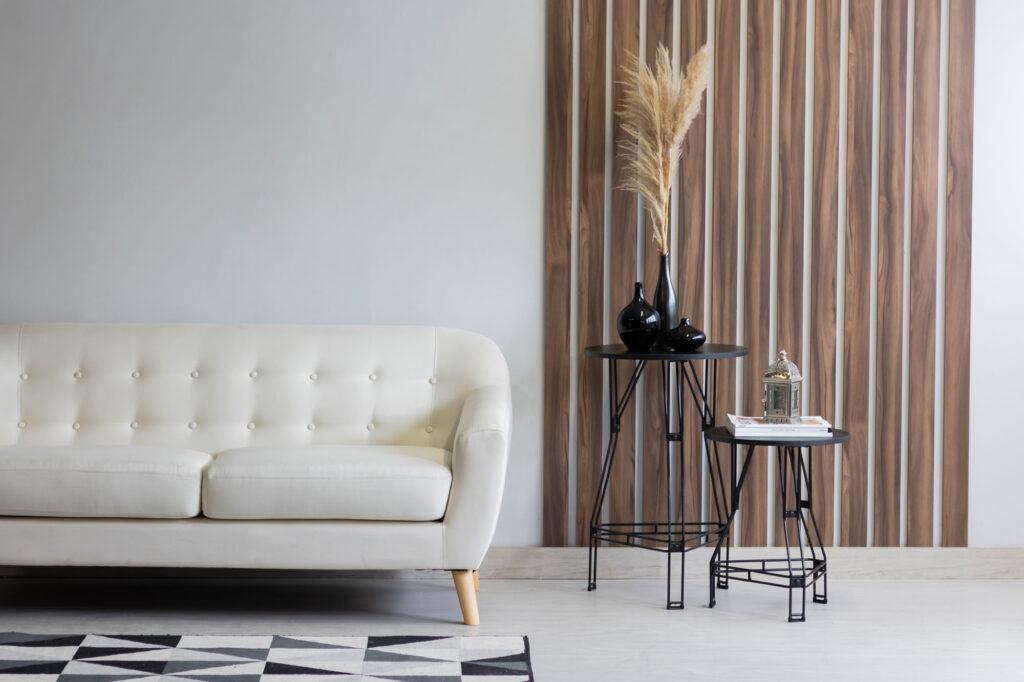 Mesa Lateral Decorativa Aramada Média - Niva
