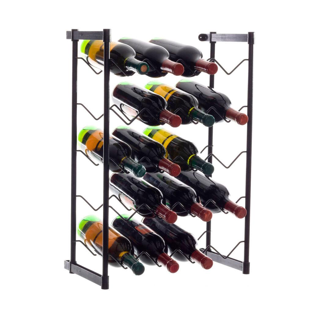 Garrafeiro aramado para 20 garrafas de vinho