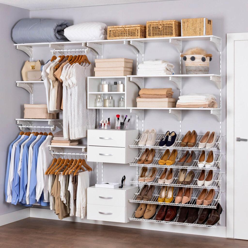Armário aramado kit 23 - Closet ou quarto