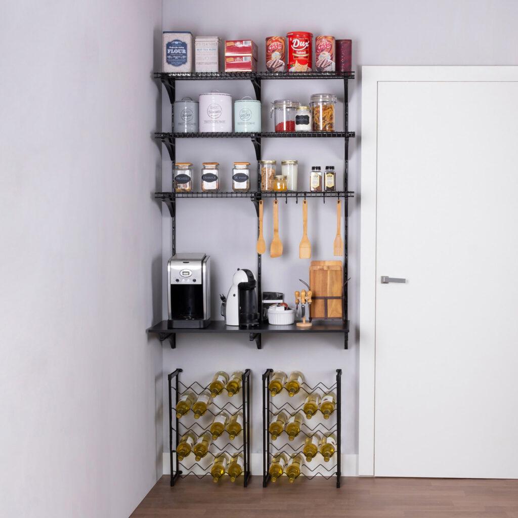 Armário aramado kit 11 - Cozinha e despensa