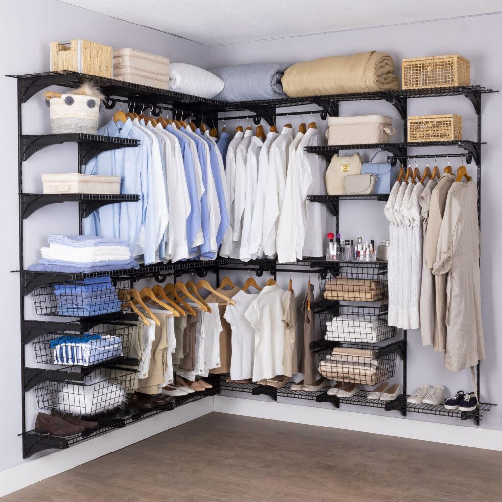 Armário aramado kit 51 - Closet ou quarto